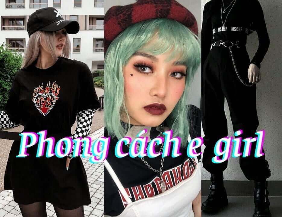 E girl trong thời trang