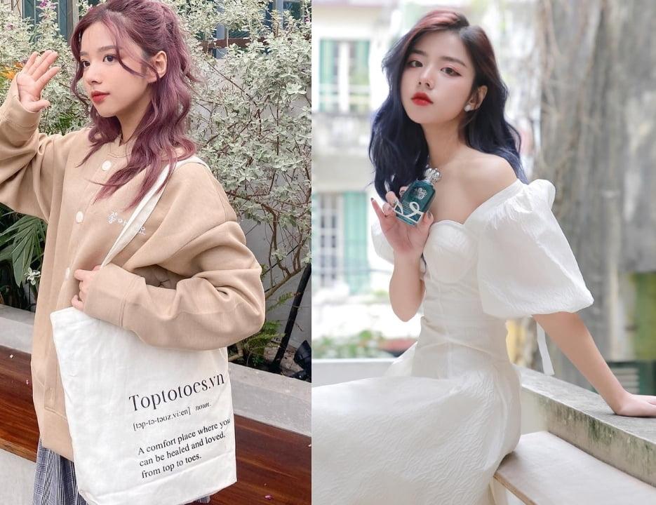 Phong cách Soft girl outfits