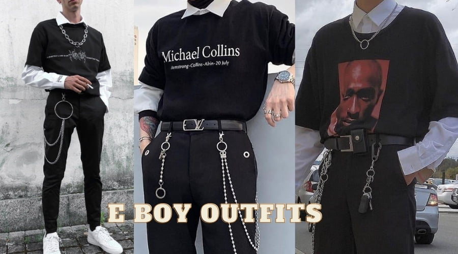 Trang phục E boy aesthetic outfits style