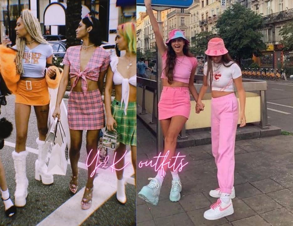 Phong cách Y2K girl outfits