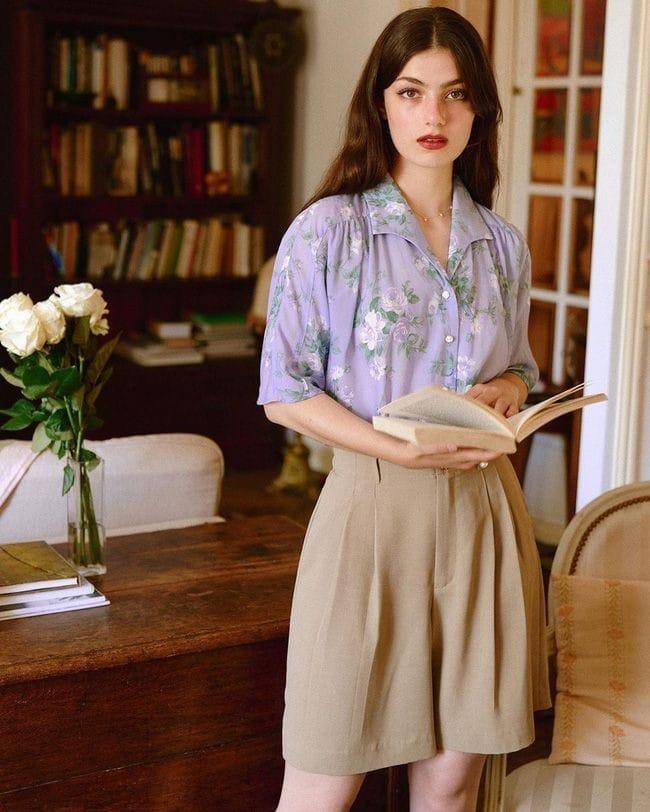Quần áo đơn giản phong cách Parisian Chic