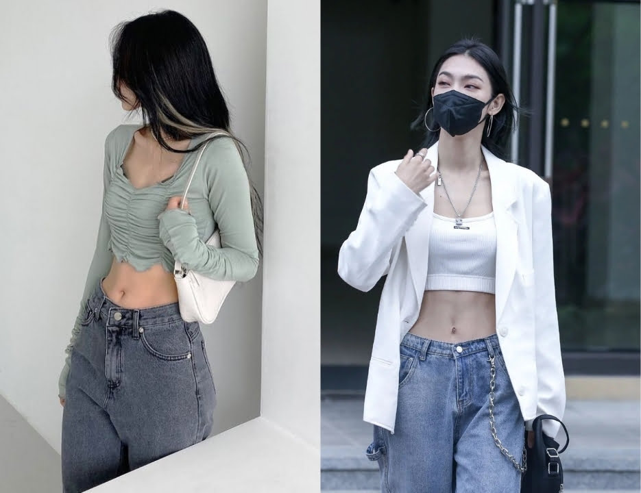 Quần áo phong cách soft girl outfits