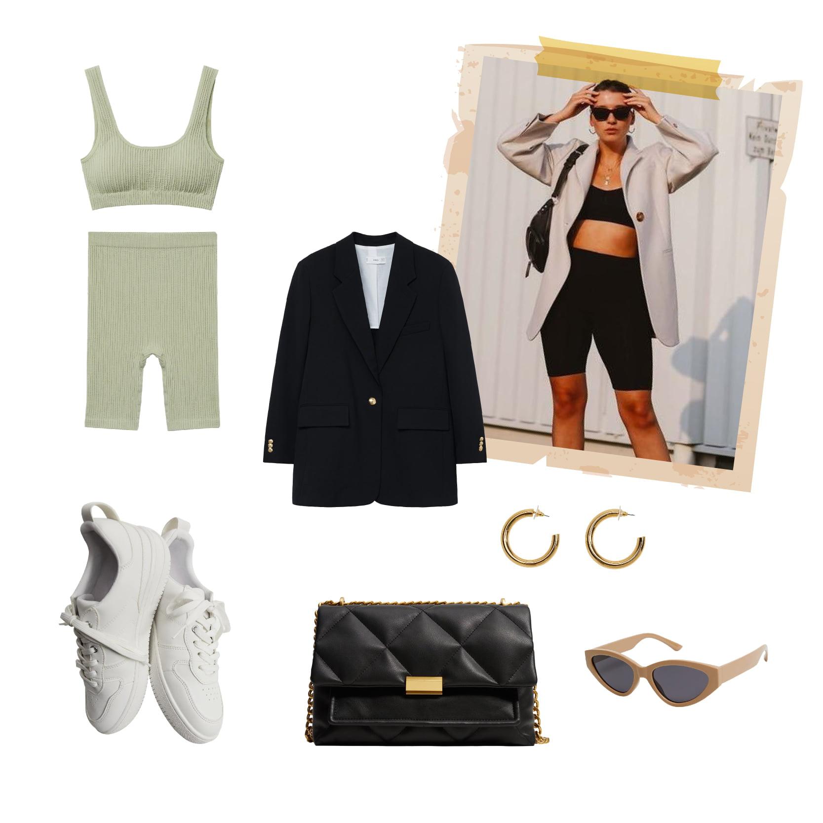 Những item thể thao đơn giản, năng động tạo nên vẻ ngoài hoàn hảo cho phong cách thời trang này