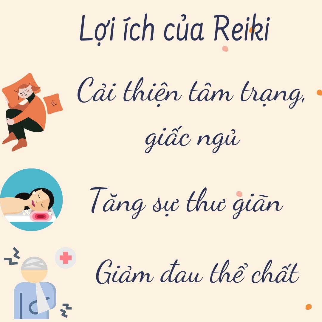 Lợi ích sức khỏe của Reiki