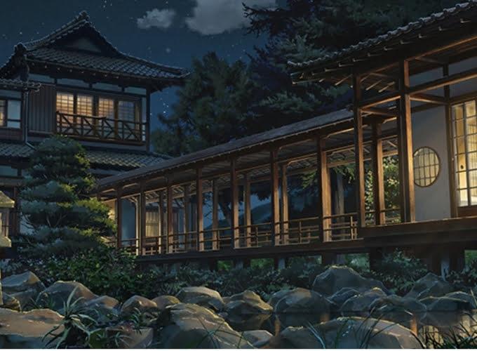 Ngôi nhà giữa thị trấn nông thôn