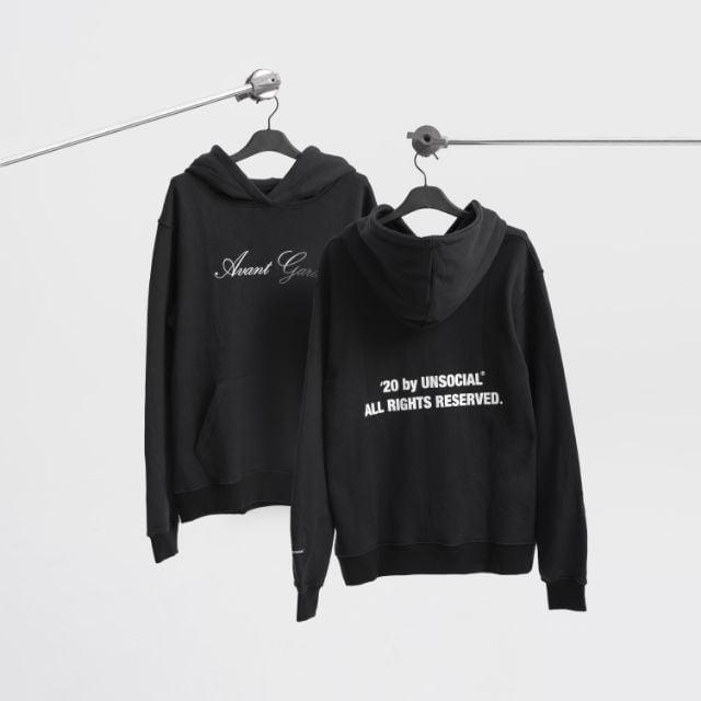 Unsocial brand hoodie nam