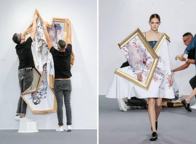 Bộ sưu tập Wearable Art của Viktor Horsting và Rolf Snoeren là sự kết hợp hoàn hảo giữa nghệ thuật và thời trang