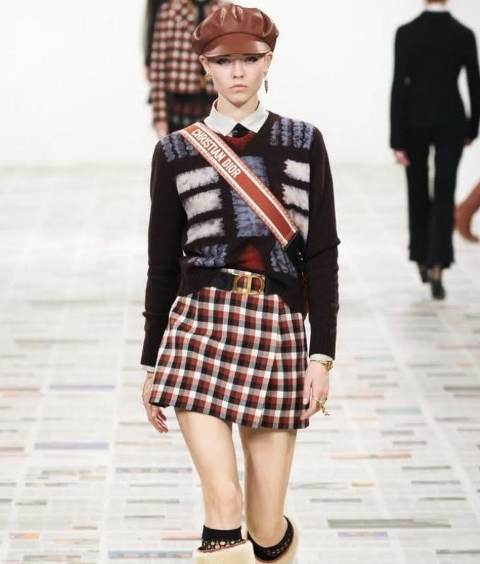 Bộ sưu tập ready-to-wear thu đông của Dior2020 mang đậm hơi hướng Preppy style