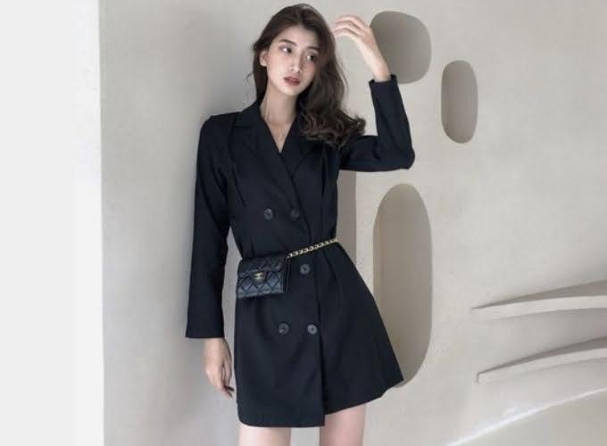 Kết hợp đồ đen phong cách all black style