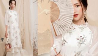 Áo dài cách tân: Sáng tạo nhưng vẫn giữ vẻ đẹp truyền thống