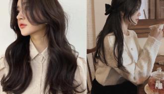 Những kiểu tóc mái bay mang đậm phong thái tiểu thư Hàn Quốc